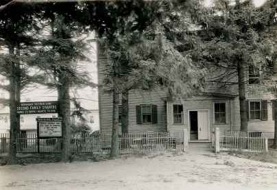 fig 2..second family dwelling with wayside pulpit, acc. no. 1989.03.01