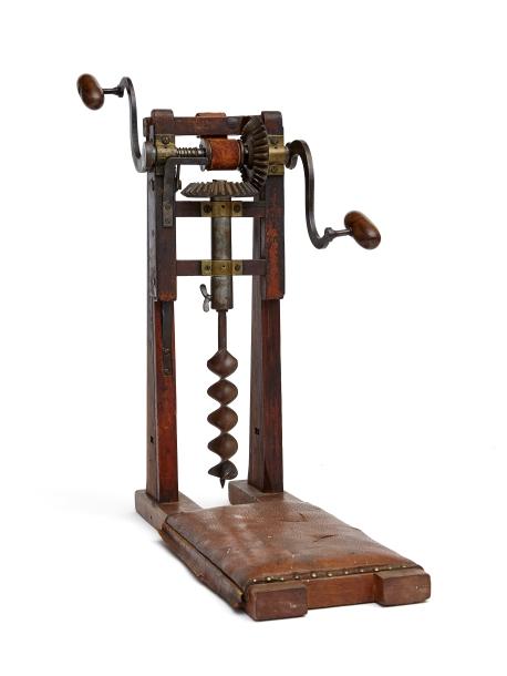 A boring machine that isn\'t boring | Shaker Museum | Mount Lebanon