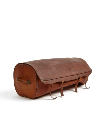 Mail Bag (exterior), North Family, Mount Lebanon, NY, 1848, Shaker Museum | Mount Lebanon, 1953.6621.1.