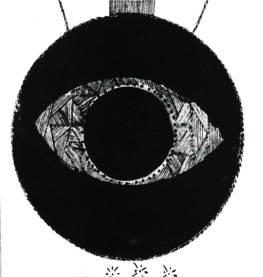 The All-Seeing Eye from Portfolio Magazine as It Was Printed, Portfolio, Volume 1, Number 1, Winter, 1950.