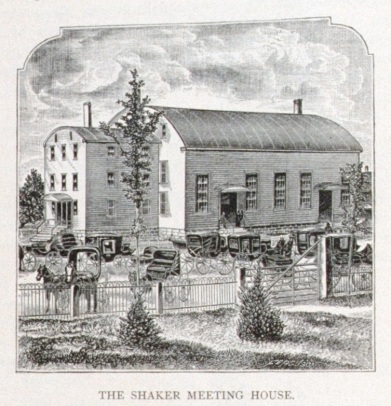 The Mount Lebanon Meetinghouse as Printed in Outing, 1883, p. 2