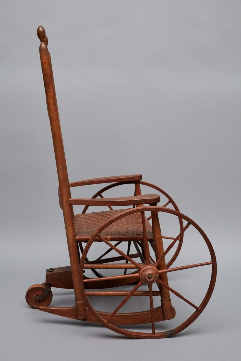 Wheelchair, Mount Lebanon, NY, Ca. 1830