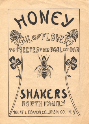 "Advertising Flyer, ""Honey, Soul of Flowers to Sweeten the Soul of Man"""