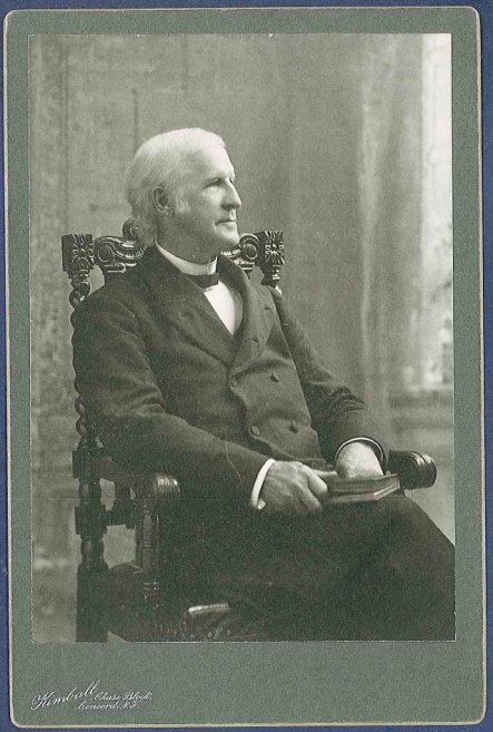 Cabinet Card, Elder Henry C. Blinn