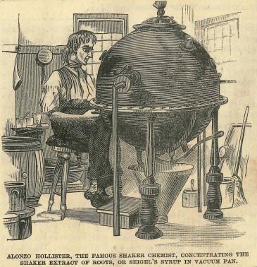 Shaker Almanac 1885: Joys and Sorrows of a Poor Old Man, [New York, NY: A. J. White, 1884], p. 7, Shaker Museum | Mount Lebanon: 1950.4360.1.