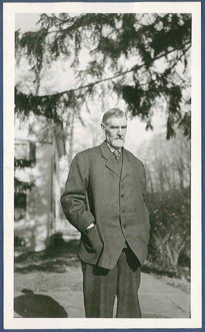 Photograph. Elder Walter S. Shepherd, North Family, Mount Lebanon, NY
