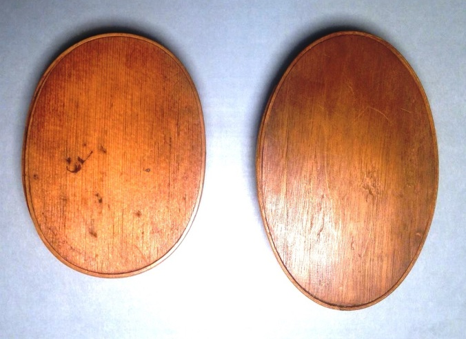 Comparison of Shape of Oval Boxes