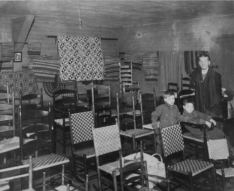 Chair Salesroom, South Family, Mount Lebanon, NY, ca. 1932