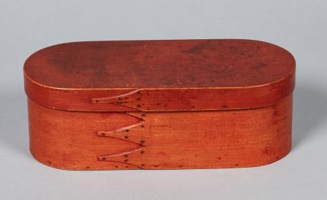 Bentwood Box, Alfred, ME, ca. 1840