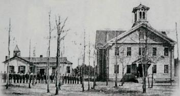 The First and Second Schoolhouses for the Schofield Normal and Industrial School, Aiken, SC, ca. 1885