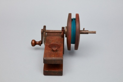 Bandage Roller (end view), Church Family, Canterbury, NH, Ca. 1840