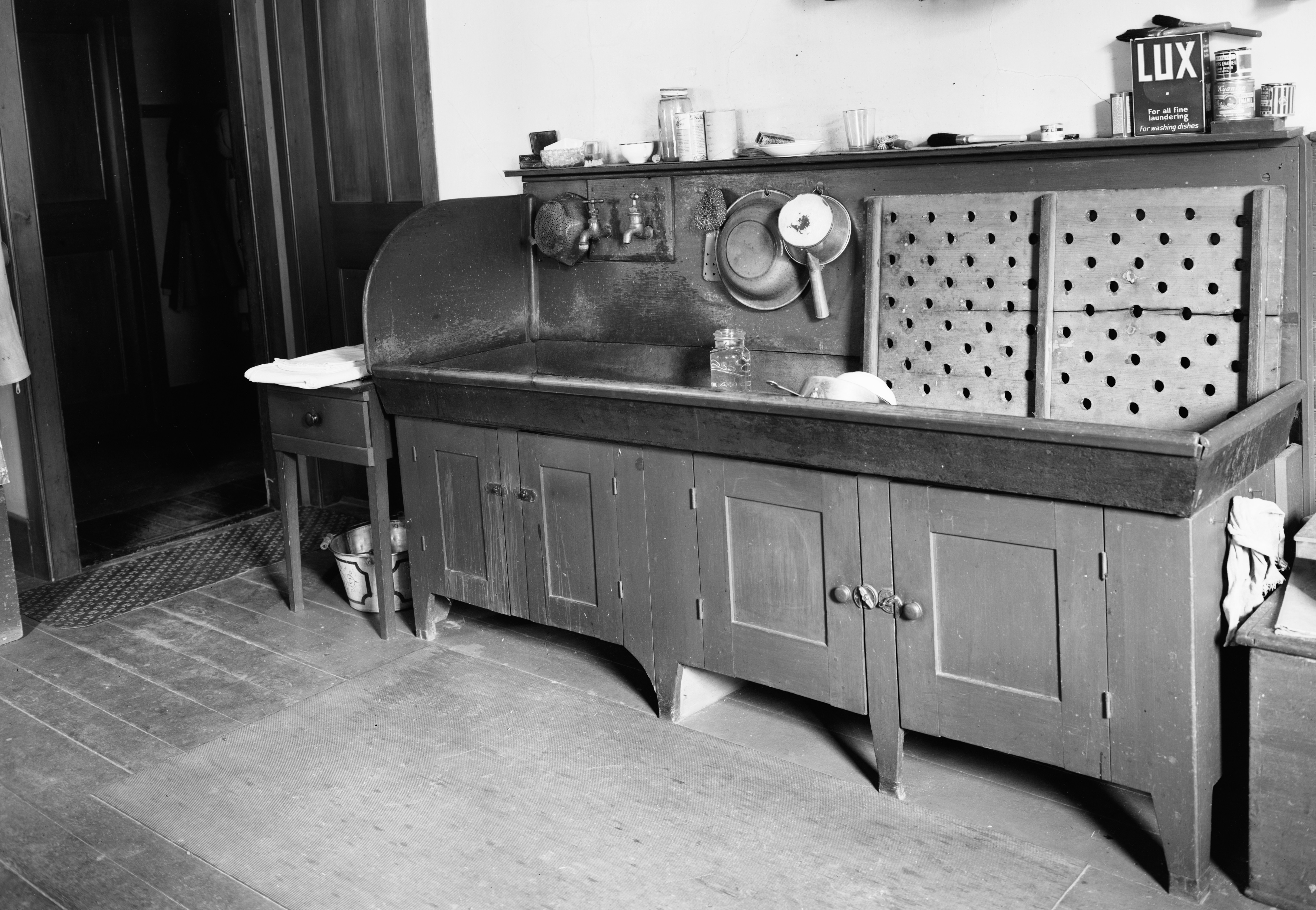 Canning Kitchen Sink, North Family, Mount Lebanon, NY, 1939