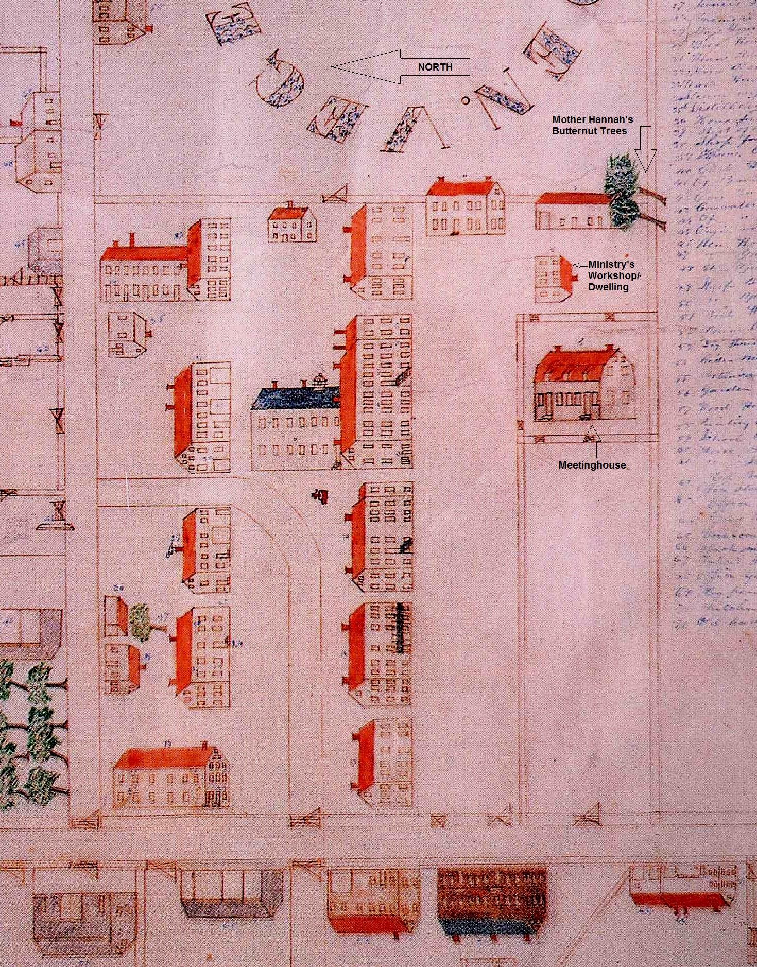 Plan of Canterbury by HenryBlinn1848,