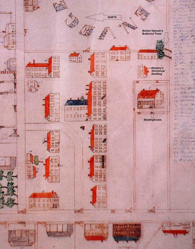 Plan of Canterbury by Henry Blinn 1848,